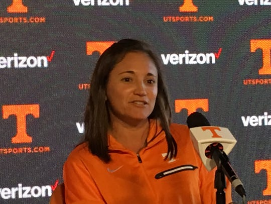 Alison Ojeda has made a good first impression as Tennessee's