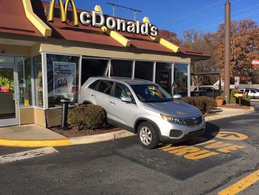 McDonalds crash