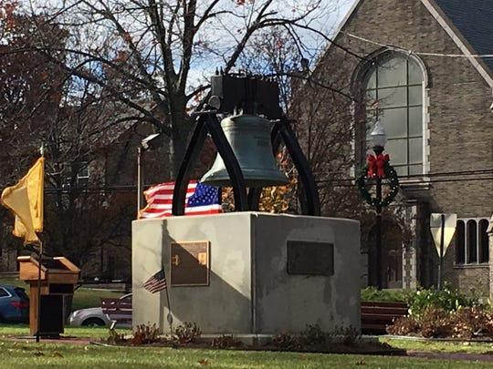 Perth Amboy's replica of the Liberty Bell.