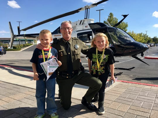 A submitted photo of Washoe County Sheriff Chuck Allen.