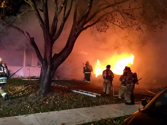 An early morning fire near Christiana destroyed a house and a car Friday.
