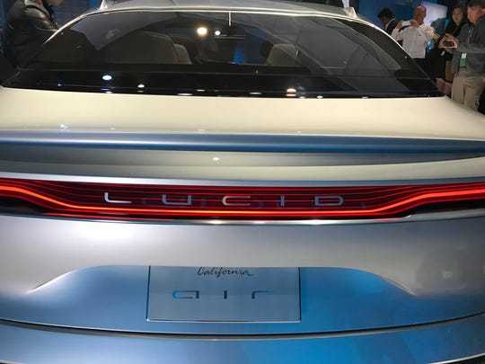 Lucid Air, the debut vehicle from the Silicon Valley