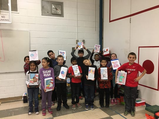 """The students and staff donated toiletries for the Veterans as part of """"Operation Shoebox""""."""
