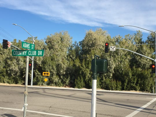 A traffic signal was recently installed at Country Club Drive and Adams Street in Bermuda Dunes. It was activated Dec. 15.
