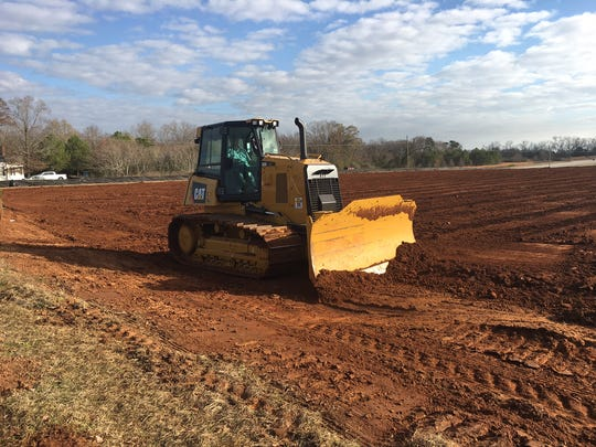 The new headquarters building for the Alabama State Board of Missions is now under construction in Prattville.