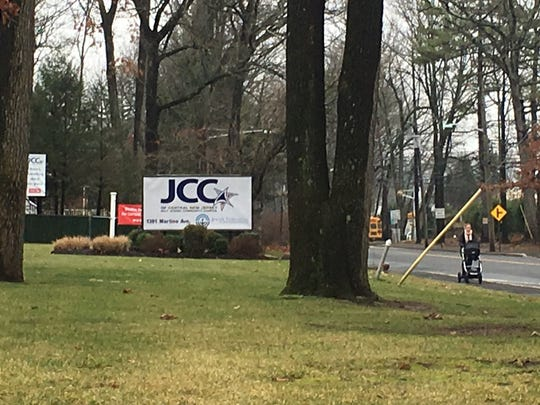The Jewish Community Center in Scotch Plains, where a bomb threat was received Wednesday.