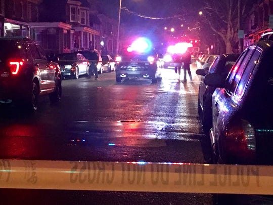 A shooting early Wednesday in Wilmington sent a 33-year-old