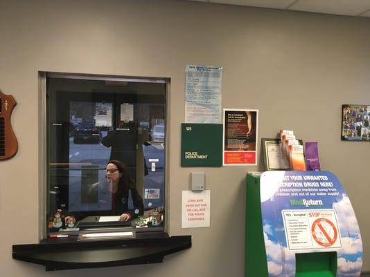 Kinnelon Police lobby safe zone