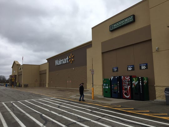 The Wal-Mart store on East 29th Street in Muncie