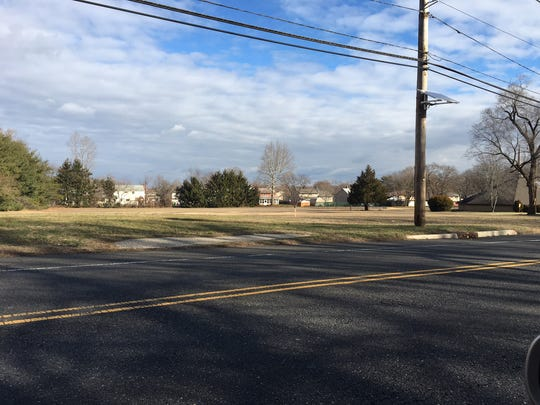 This 2.67 acre vacant lot in Burlington Township along Sunset Road is where a faith-based nonprofit is proposing to build a homeless housing community.