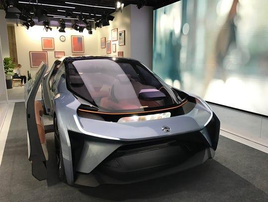 NIO's Eve, a five-passenger autonomous car prototype,