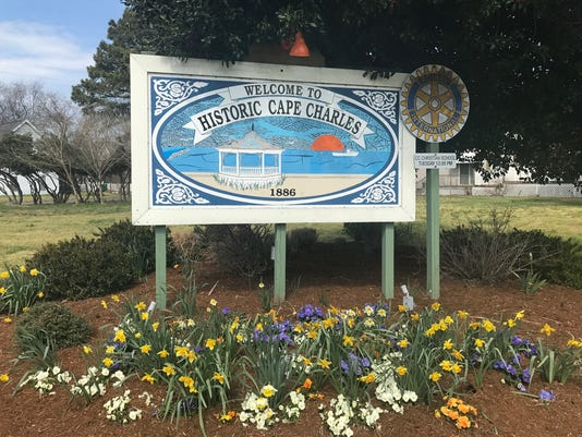 Cape Charles Sign
