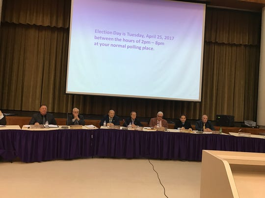 The Garfield Board of Education approved the budget and a referendum question at the meeting Monday.