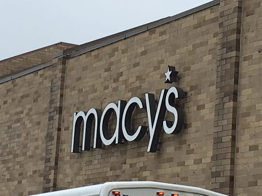 Macy's at Woodbridge Center.