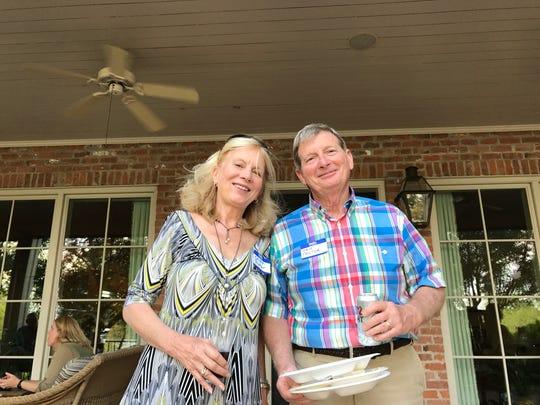 Carolyn Prator and hubby Caddo Sheriff Steve Prator