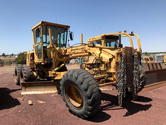Though heavy equipment should be replaced every 10