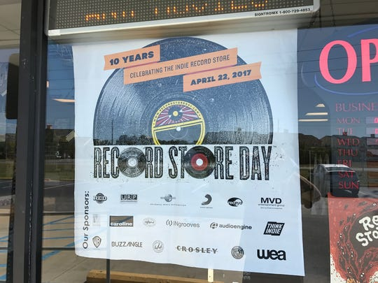The Music Box on Navy Boulevard will participate in Record Store Day on Saturday, April 22, 2017.