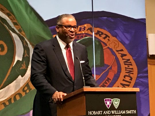 Gregory Vincent, the new president of Hobart and William Smith Colleges.
