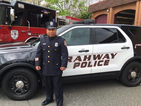 Rahway Police Officer Luis Ataca
