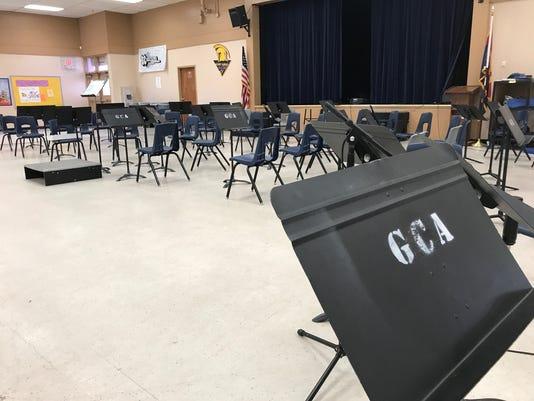 Gilbert Classical Academy cafeteria