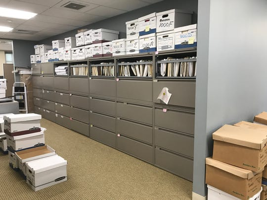 Denville administrators pack up their boxes and make room for the Board of Education, which is looking to move its offices into the municipal complex.