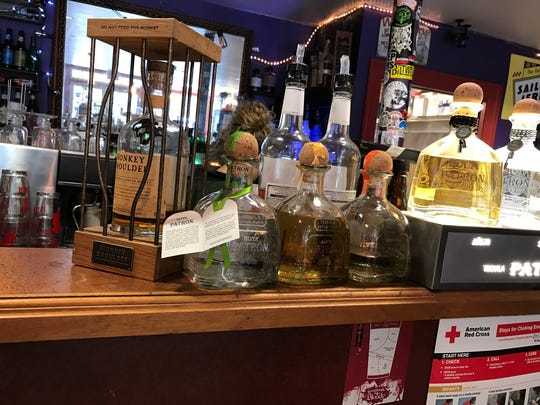 The bar at Cool Beans International Coffees & Teas in Oradell.
