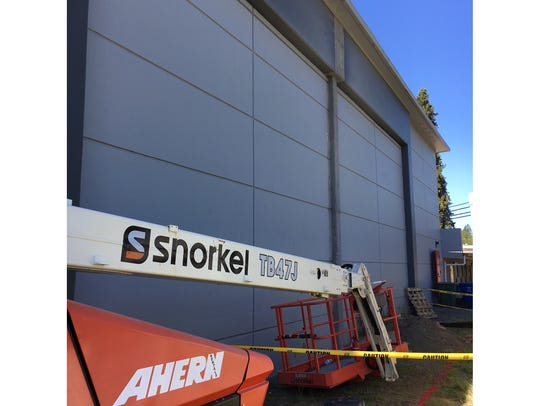 DSL Builders have begun exterior work on the gymnasium