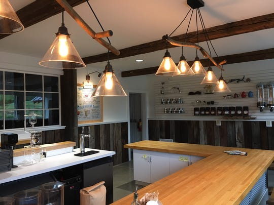 A look inside the new Coffee Bar & Cafe off Route 100.
