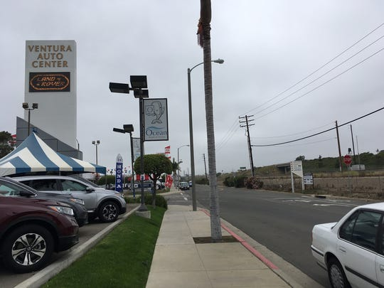 Increasing the size of signage is among the changes proposed to the Auto Center Specific Plan.