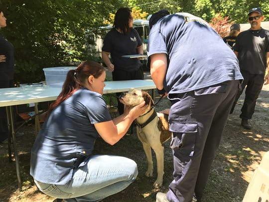 Animal Rescue Corps assisted the Gibson County Sheriff's