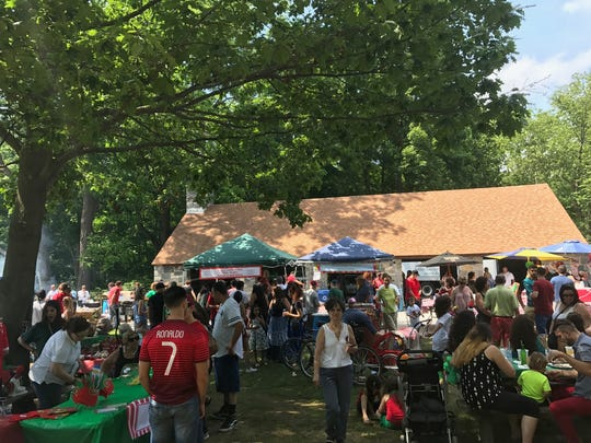 The smells, sounds and tastes of Portugal took over Ridge Road Park in Hartsdale Sunday during the annual Portuguese-American Cultural Heritage Celebration. June 18, 2017.