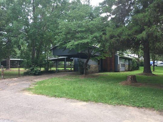 The shooting occurred at this home in the 1100 block of Cooper Street.