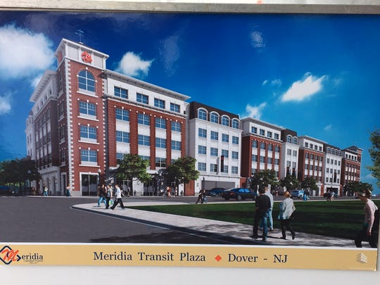 Image of the new Meridia Transit Plaza apartment and