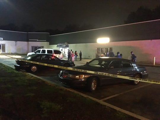 State troopers arrived at the Star Center, at 3125 New Castle Ave., around 1 a.m. and found the man in the front passenger seat of a vehicle.