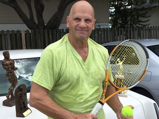 Eric Boyle has had a passion for tennis and body-building