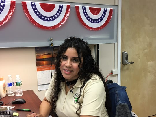 Former Dover Alderwoman Michelle Espada, who recently was hired as a town recreation aide.