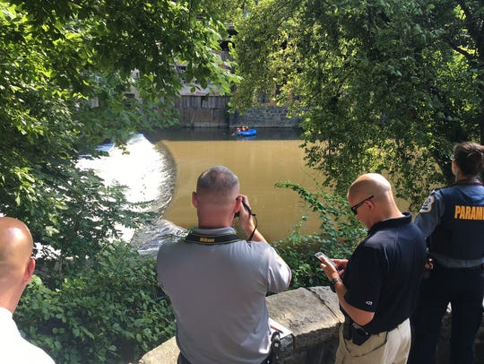 A body was recovered from the Brandywine on Wednesday
