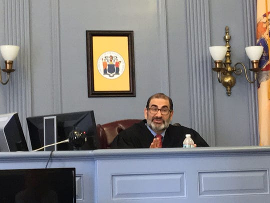 Judge Ira Cohen in Morristown on July 28, 2017.