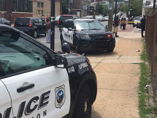 Wilmington police investigate shooting.