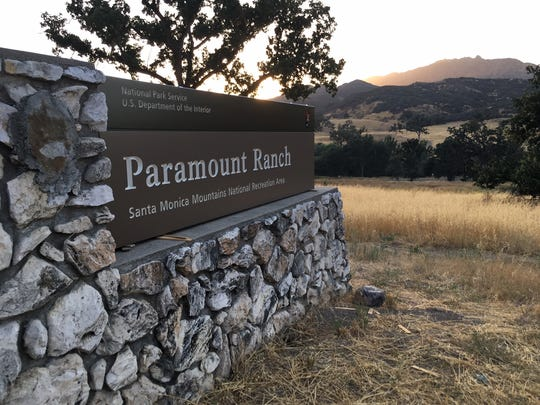 Paramount Ranch in the Santa Monica Mountains.