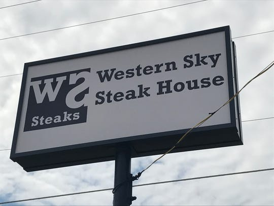 Western Sky Steak House is located at 2024 North Chadbourne