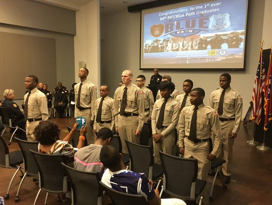 Eleven graduates of the Blue Path high school recruiting
