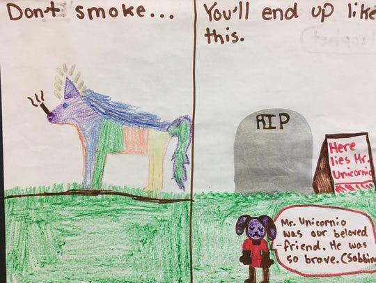 Nicole Prophet's winning artwork.