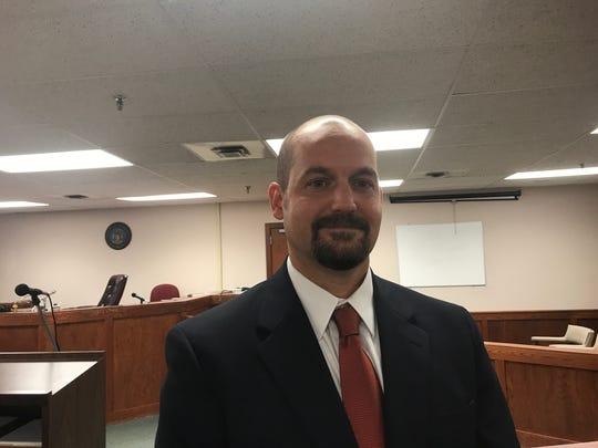 Ionia County Prosecutor Kyle Butler
