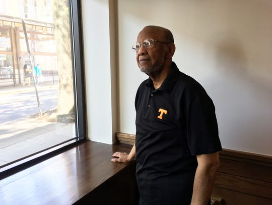 Downtown resident Theotis Robinson Jr. has watched