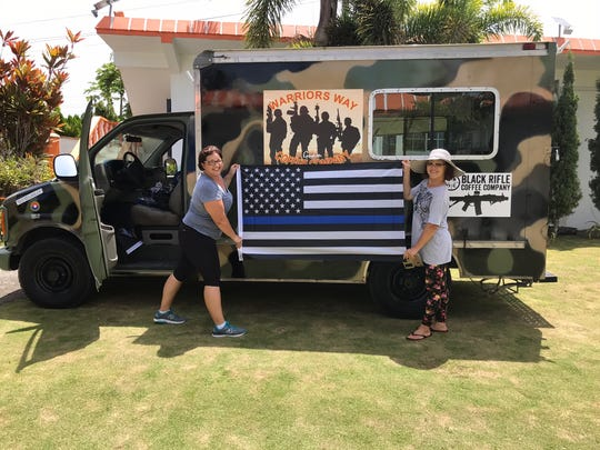 Kelly Harper, and Lien Melendez, are the dynamic duo behind Warriors Way, a mobile coffee company serving military, first responders, and everyday 'warriors.'