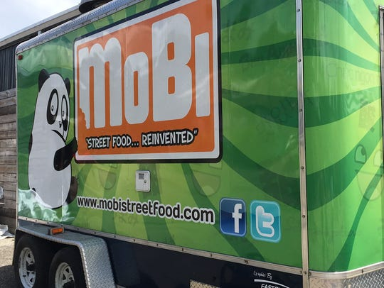 MoBi food truck, now parked at Proof.