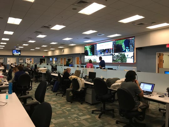 The Riviera Beach command center for Florida Power