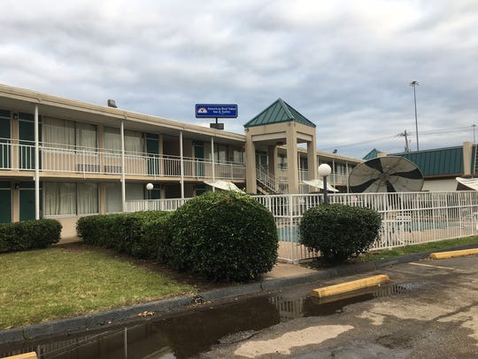 A photo of the Americas Best Value Inn in Whitehaven, where a homicide was reported Tuesday.