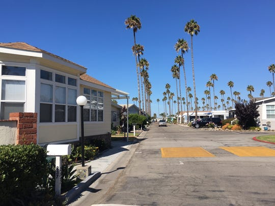 Ventura has 12 mobile home parks with rent control.